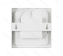 DOWNLIGHT DE SUPERFICIE 18  CUADRADO