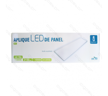 PANEL TECHO 25W RECTANGULAR 1800LÚMENES
