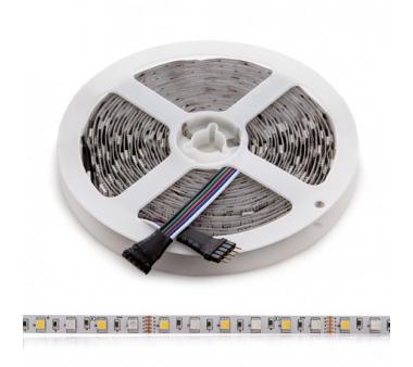 TIRA LED 5M RGB + BLANCO cálido  360LEDS  SMD5050 EXTERIOR