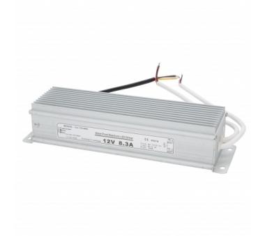 TRANSFORMADOR PARA EXTERIOR 100W PARA TIRAS DE LEDS