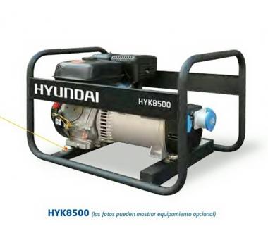 GENERADOR GASOLINA HYK85000 SERIE RENTAL