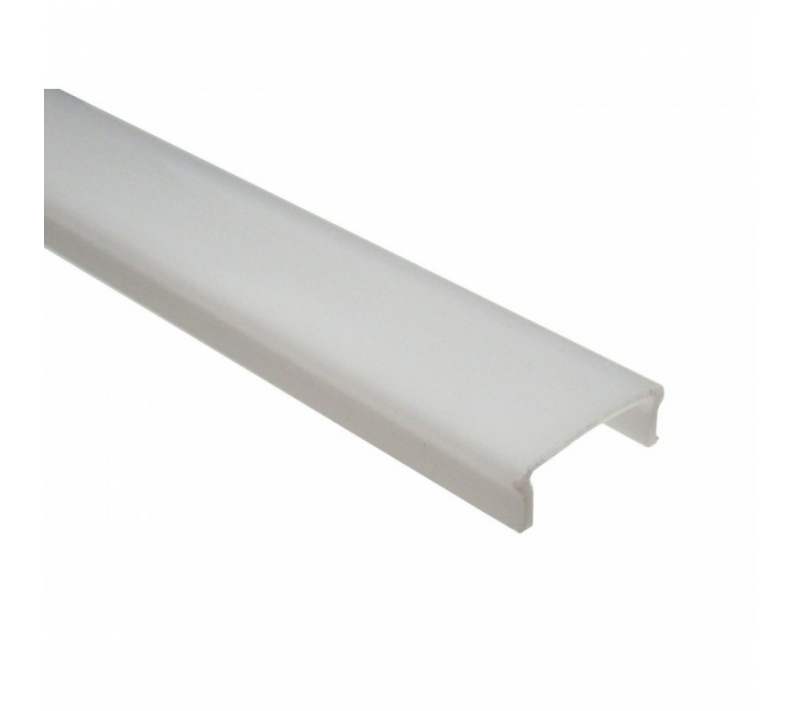 Tapa transl cida para perfil de aluminio para tira led elexa - Tiras de aluminio ...
