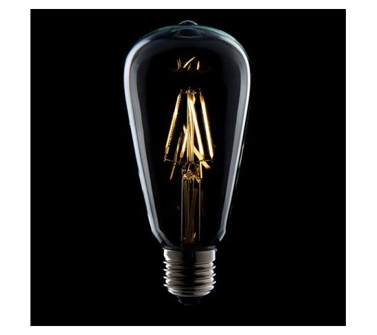 LÁMPARA BOMBILLA FILAMENTO LED E27 4W 380Lm