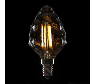 BOMBILLA LED FILAMENTO VINTAGE C55  E14 4W 400Lm