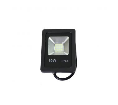 PROYECTOR LED SLIM 10W EXTERIOR NEGRO