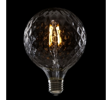 BOMBILLA LED GLOBO FILAMENTO VINTAGE G95  E27 4W 400Lm