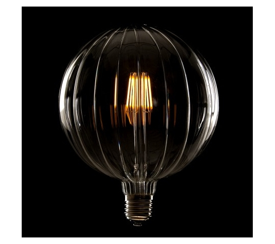 BOMBILLA LED GLOBO FILAMENTO VINTAGE G150  E27 6W 600Lm