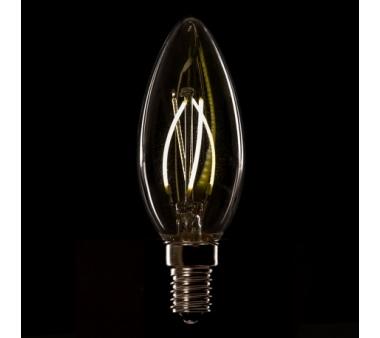 LÁMPARA VELA FILAMENTO GRAFENO LED E14 4W