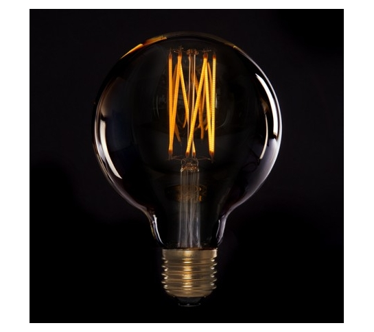 BOMBILLA LED  VINTAGE DIMABLE ONDA G125 E27 4W