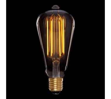 BOMBILLA LED  VINTAGE DIMABLE  ST64 EDISON ONDA E27 4W