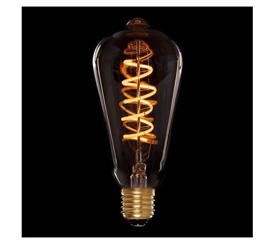 BOMBILLA LED  VINTAGE DIMABLE  ST64 EDISON VORTICE E27 4W
