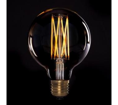 BOMBILLA LED  VINTAGE DIMABLE G95 GLOBO ONDA E27 4W