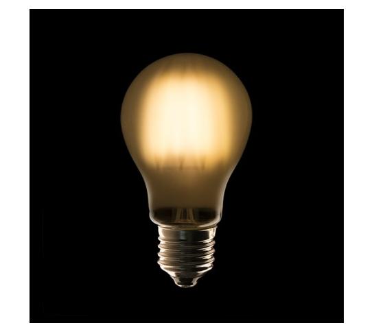 BOMBILLA FILAMENTO A60 LED E27 4W 440Lm OPAL