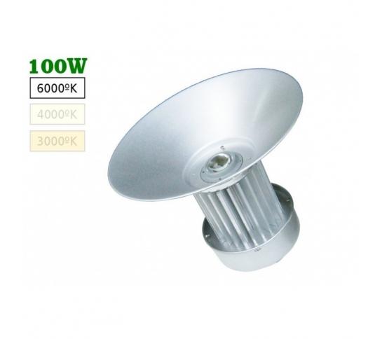 Campana de LED PARA NAVE  100W CAPERUZA 120º 6000K