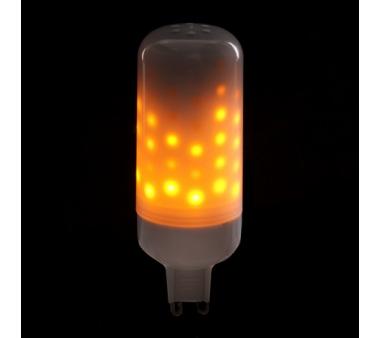 Bombilla de leds efecto llama G9 3W