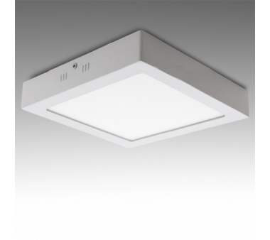 DOWNLIGHT CUADRADO SUPERFICIE 300mm 24W