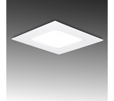 DOWNLIGHT CUADRADO ECOLINE 120mm 6W