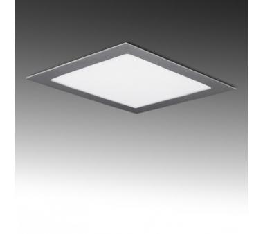 CUADRADO LEDS ECOLINE 224m 18W  Color Plata