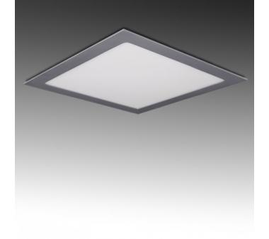 CUADRADO LEDS  300mm 25W  Color Plata