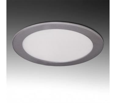 LEDS CIRCULAR ECOLINE 15W 192mm COLOR PLATA