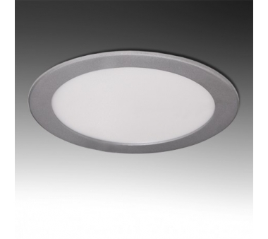 LEDS CIRCULAR ECOLINE 18W 225mm COLOR PLATA