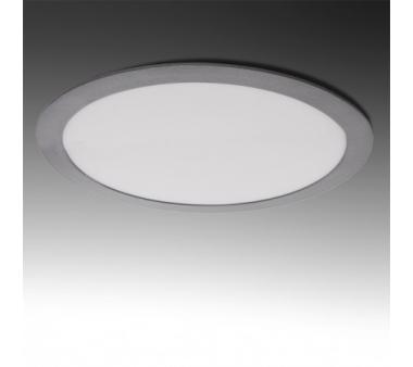 LEDS CIRCULAR ECOLINE 25W 295mm COLOR PLATA