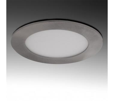 LEDS CIRCULAR 6W 120mm NIQUEL SATINADO