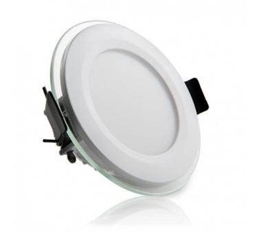 LEDS CIRCULAR CON CRISTAL 6W 95mm