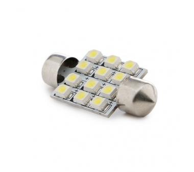 LÁMPARA DE LEDS FESTOON 12 X SMD3528 36MM