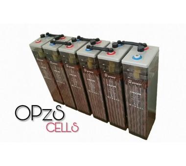 Baterías solares opzs transparentes