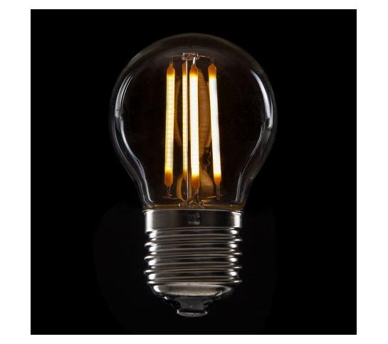 BOMBILLA LED FILAMENTO VINTAGE G45  E27 4W 400Lm