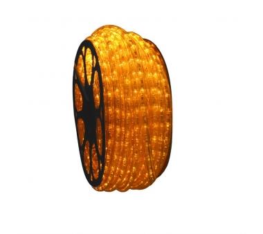 Hilo Luminiso flexible Led Amarillo para exterior 50 metros