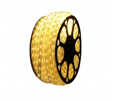 Hilo Luminiso flexible Led Amarillo para exterior 50 metros