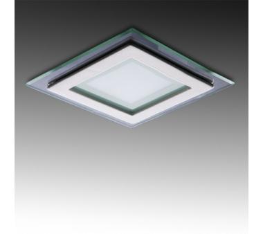 DOWNLIGHT LEDS 6W CUADRADO 95X95mm