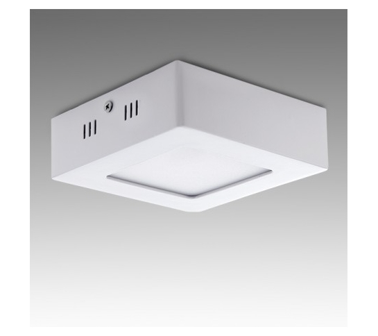 DOWNLIGHT CUADRADO SUPERFICIE Ø120mm 6W