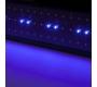 Panel de LEDs para Aquarios 95,5Cm (+ 20Cm) 25W 144 Leds (120 Blanco + 24 Azul)