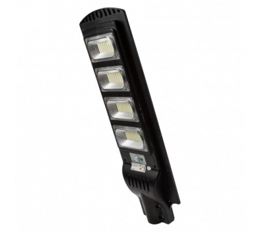 FAROLA SOLAR LED 80W  CON SENSOR DE MOVIMIENTO IP65