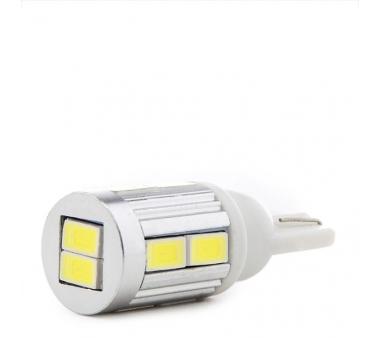 LÁMPARA DE LEDS 10 X SMD5730 BASE T10